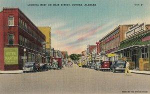 DOTHAN , Alabama , 1930-40s ; West on Main Street