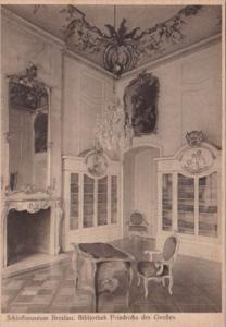 Germany Schlossmuseum Breslau Bibliothek Friedrichs des Grossen