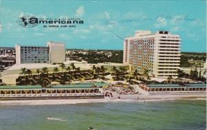 Florida Miami Beach The Americana Hotel 1967