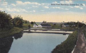 UNION CITY, Pennsylvania, PU-1915; State Fish Hatchery