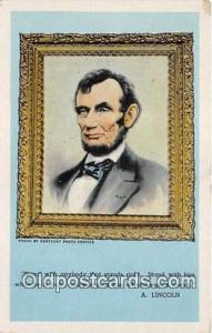 Hodgenville, KY, USA A Lincoln