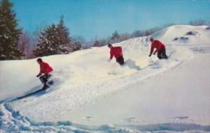 Winter Sport On A Ski Run Greetings From Stone Ridge New York