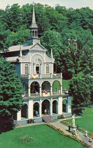 Canada - Quebec, Ste Anne de Beaupre. The Holy Stairs