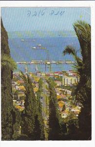 Israel Haifa View From The Persian Garden