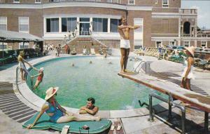 Swimming Pool, Colton Manor, ATLANTIC CITY, New Jersey, 40-60's
