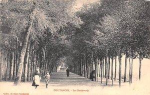 Les Boulevards Coutances France Unused