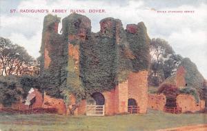 England Dover St. Radigund's Abbey Ruins