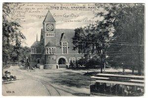 Amherst, Mass, Town Hall