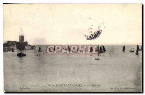 Old Postcard Fouras les Bains Regules Charter