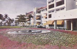 Front View of Tower Isle Hotel, Jamaica, British West Indies, 40-60s