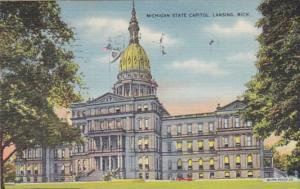 Michigan Lansing State Capitol Building 1940