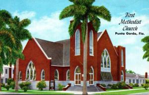Florida Punta Gorda First Methodist Church 1961