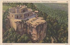 Tennessee Chattanooga Ochs Memorial Building On The Point Of Lookout Mountain