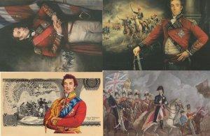 The Duke Of Wellington 4x Portrait Painting Postcard s