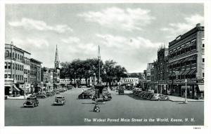 21421 NH Keene   Main Street   Widest paved in World