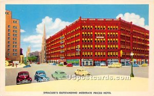 Syracuse's, Yates Hotel - New York