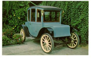1911 Waverly Electric, Antique Car of Yesterday