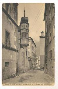 Rue a Brique et Tourelle du Chateau de Stockalper, Switzerland, 00-10s
