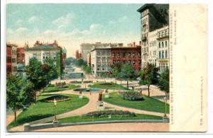 Looking West from Washington Monument Baltimore Maryland 1907c postcard