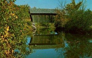 VT -  Marshfield. Martin Covered Bridge