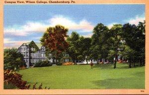 Pennsylvania Chambersburg Campus View Wilson College
