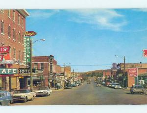 Unused Pre-1980 STREET SCENE Lusk - Near Douglas Wyoming WY hp1668