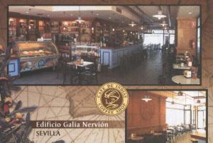 Postal 006062 : Publicitaria Cafe de Indias, Edificio Galia Nervion en Sevilla
