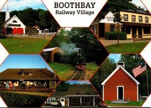 Maine Boothbay Railway Village Multi View