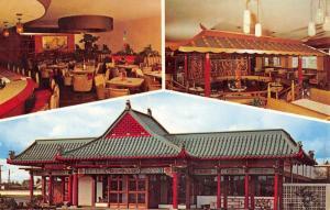 Portland Oregon Chinese Gardens Multiview Vintage Postcard K57488