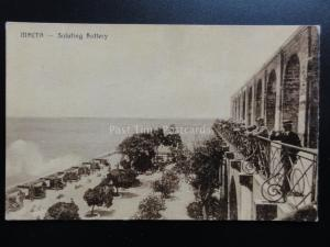 Malta: Saluting Battery - Old Postcards