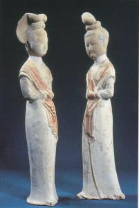 Chinese Relics Beautiful Women Figurines Sui Dynasty Splendid China Kissimmee...