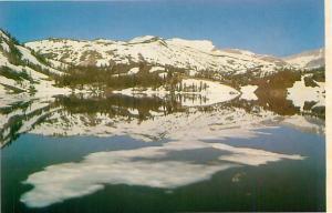 Postcard Ellery Lake Sierra Nevada Tioga Pass Mono Lake CA  # 3706A