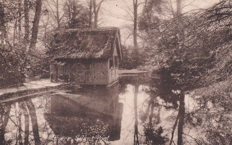 SURREY, England, 1900-1910s; Shere, Silent Pool