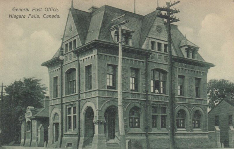 NIAGRA FALLS, Ontario, Canada, 1900-10s; General Post Office