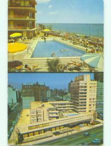 Pre-1980 LAKE TOWER MOTEL Chicago Illinois IL HQ2863