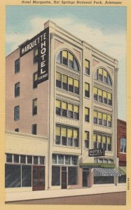 HOT SPRINGS National Park, Arkansas, 1930-40s ; Hotel Marquette