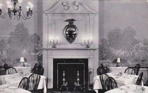 Illinois Chicago Harding's Colonial Room The Fireplace Curteich
