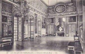 France Versailles Les Palais Salon de Eil-de-Boeuf