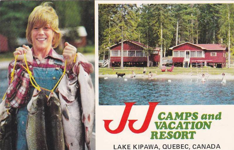 JJ Camps and Vacation Resort,  Lake Kipawa,  Quebec,  Canada,   40-60s