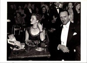 Opening Night at the Opera 1949 Arthur Leipzig Postcard unused Modern