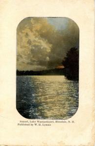 NH - Hinsdale. Lake Wautastiquet Sunset