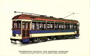 Trolley - Washington Railway & Electric Co. (Collectors Reproductions)