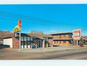 Unused Pre-1980 CHEYENNE MOTEL & RESTAURANT Colorado Springs Colorado CO M4066