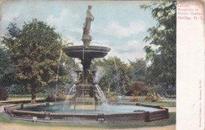 HALIFAX, Nova Scotia, Canada, PU-1906; Jubilee Fountain In Public Garden