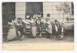 Italy: Tarantella Sorrentina Dancers, 00-10s