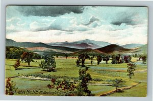 White Mountains NH-New Hampshire Mt Washington From Intervale Vintage Postcard