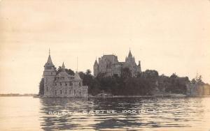 Thousand Islands New York Boldts Castle Real Photo Antique Postcard K53111