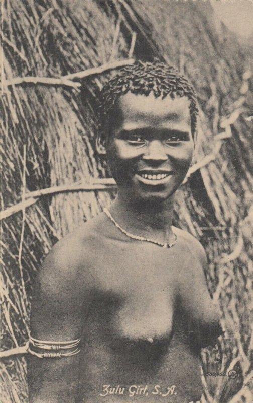Zulu Girl , South Africa , 00-10s