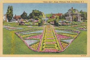 Rhode Island Providence Gates Ajar Roger Williams Park Curteich