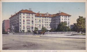 Hotel Somerset, BOSTON, Massachusetts, PU-1920